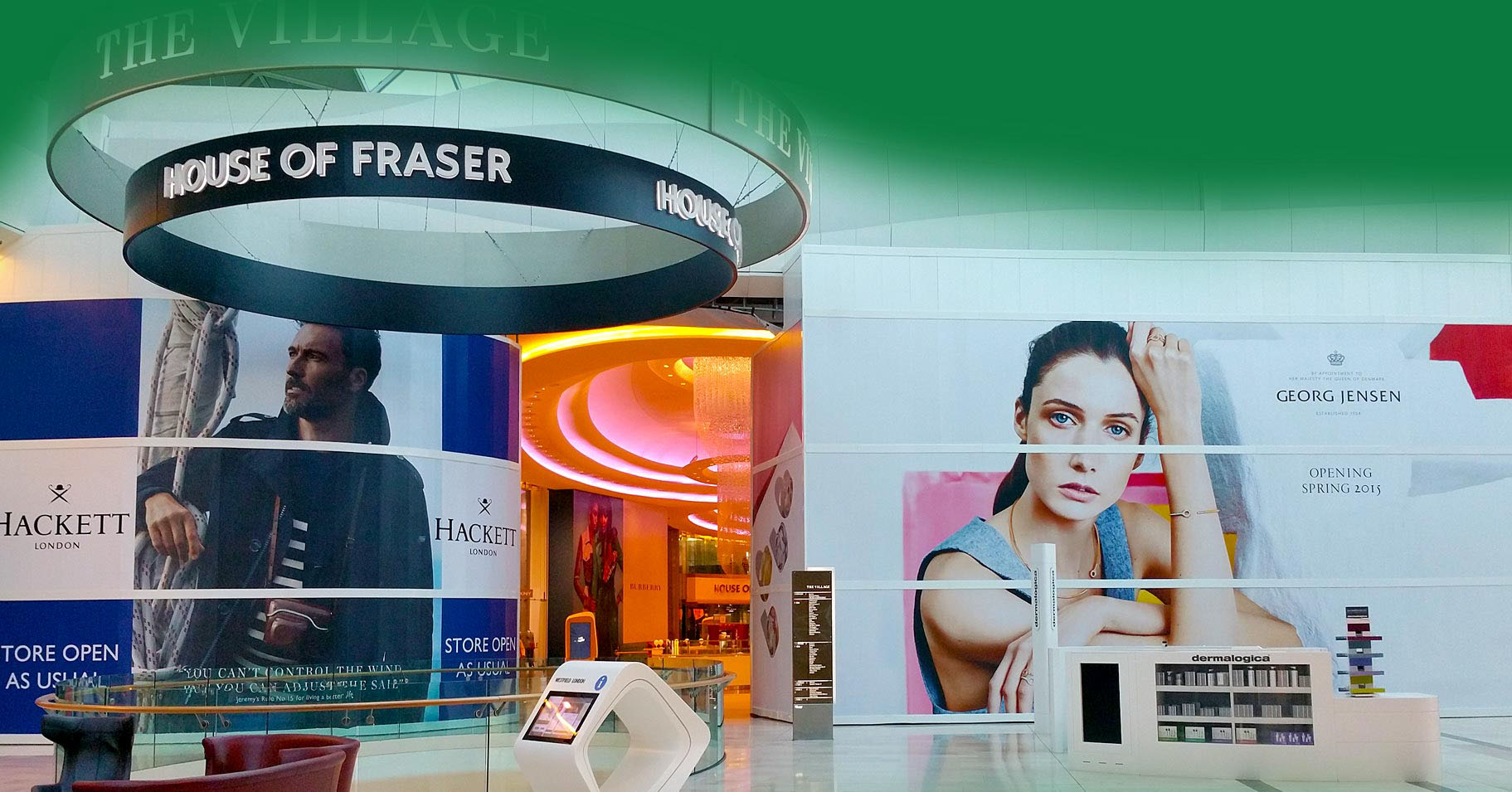 Retail Demo Wall System